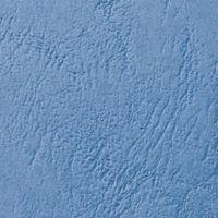 GBC LeatherGrain A4 Blue Binding Covers 250gsm, Pack of 50 - 46735U