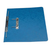 Europa A4/Foolscap Blue Spiral File - Pack of 25 - 3005