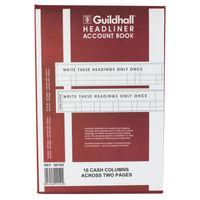 Guildhall 38 Series Headliner Book 38/16, 16 Columns - 1152
