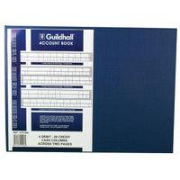 Guildhall 61 Series, 6 Debit 20 Credit Columns Account Book - 1408