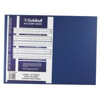 Guildhall 61 Series, 8 Debit, 26 Credit Account Book - 1409