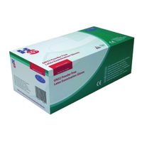 View more details about Handsafe Powder-Free Natural Medium Latex Gloves (Pack of 100) GN32