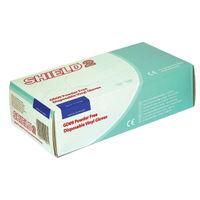 Shield Clear Medium Powder-Free Vinyl Gloves, Pack of 100 – GD09