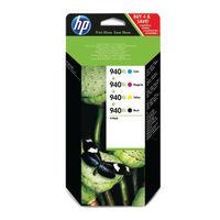 HP 940 XL Black and Colour Ink Cartridge Multipack - High Capacity C2N93AE