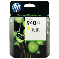 View more details about HP 940XL Yellow High Yield Ink Cartridge | C4909AE