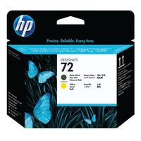 View more details about HP 72 Yellow/Matte Black Printhead C9384A