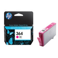View more details about HP 364 Magenta Ink Cartridge - CB319EE