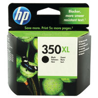 View more details about HP 350XL High Yield Black Ink Cartridge CB336EE