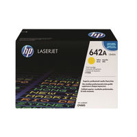 View more details about HP 642A Yellow Laserjet Toner Cartridge CB402A