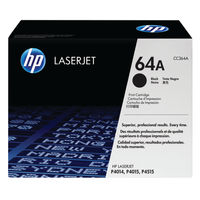 HP 64A Black Toner Cartridge - CC364A