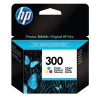 View more details about HP 300 Tri-Colour Ink Cartridge - CC643EE