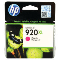 View more details about HP 920XL Magenta High Yield Ink Cartridge | CD973AE