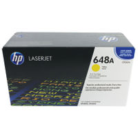 View more details about HP 648A Yellow Laserjet Toner Cartridge CE262A