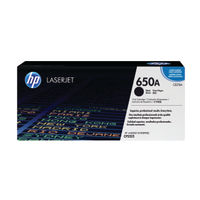 HP 650A Black Toner Cartridge