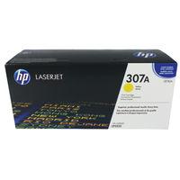 HP 307A Yellow Toner Cartridge - CE742A