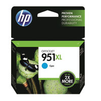 HP 951XL High Capacity Cyan Ink Cartridge   CN046AE
