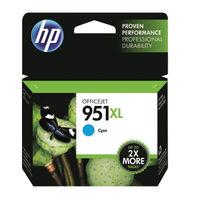 HP 951 XL Cyan Ink Cartridge - High Capacity CN046AE