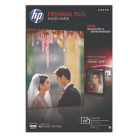 HP Premium Plus White 100 x 150mm Glossy Paper, 300gsm - CR695A