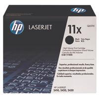 View more details about HP 11X Black High Yield Laserjet Toner Cartridge Q6511X