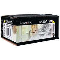 Lexmark C54X/X54X Yellow Toner Cartridge - C540A1YG