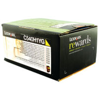 Lexmark C54X/X54X Yellow Toner Cartridge - High Capacity C540H1YG