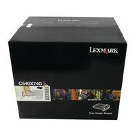 View more details about Lexmark C540 Black & Colour Imaging Kit 0C540X74G