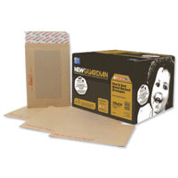 New Guardian Board Backed Manilla Peel and Seal Envelopes 130gsm (Pk50) C27726