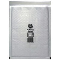 Jiffy Airkraft White Size 4 Mailers, Pack of 50 - JL-4