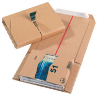 Brown Cardboard 145mm x 126mm x 55mm Mailing Boxes - Pack of 20 - JBOX -51