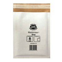 View more details about Jiffy Mailmiser Bag, Size 5, White - Pack of 5 - 2221