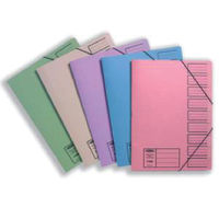 Concord Foolscap Assorted 9 Part Files 40mm - Pack of 10 - 19099