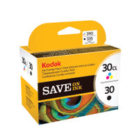 Kodak 30B & 30C Ink Cartridge Combo Twin Pack - 3952355