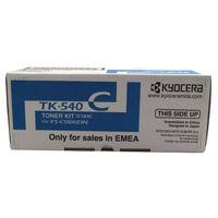 View more details about Kyocera TK-540C Cyan Toner Cartridge 1T02HLCEU0