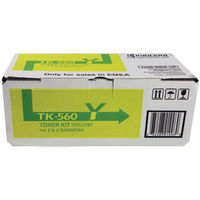 View more details about Kyocera TK-560Y Yellow Toner Cartridge (10000 page capacity) 1T02HNAEU0