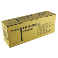 View more details about Kyocera TK-520M Magenta Toner Cartridge
