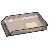 Q-Connect Black A4 Mesh Letter Tray - KF00848