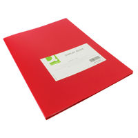 Q-Connect Red 20 Pocket Display Book - KF01250