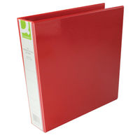 Q-Connect Red A4 4 D-Ring Presentation Binder - KF01330