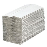 2Work 1-Ply White C-Fold Paper Hand Towels, Pack of 2880 - HTW288