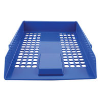 Basics Essential Blue Letter Tray