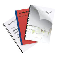 Q-Connect Clear A4 PVC Binding Covers 250micron (Pack of 100) KF24011