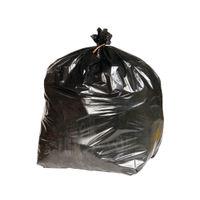 2Work Extra Heavy Duty Refuse Sacks Black, Pack of 200 - KF76961