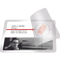Pelltech Self Laminating Cards 60 x 100mm, Pack of 100 - PLG25250
