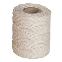 Flexocare Medium White Cotton Twine Reel 125g - Pack of 12 - 77658008
