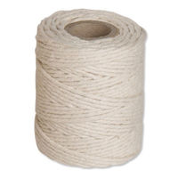 Flexocare Medium White Cotton Twine Reel 500g - Pack of 6 - 77658010
