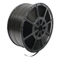 Polypropylene Black Strapping, 12mm x 2000m - 82129003