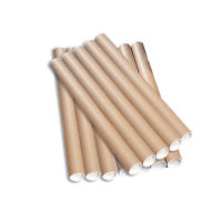 Brown Kraft A1 Postal Mailing Tube, 76mm - Pack of 12 - PT-076-15-07