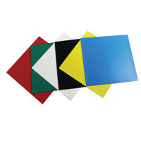 Nobo Magnetic Squares Assorted, Pack of 6 - 1901104