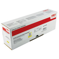 Oki Yellow Toner Cartridge - High Capacity 42127454