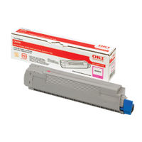 Oki Magenta Toner Cartridge - 43487710